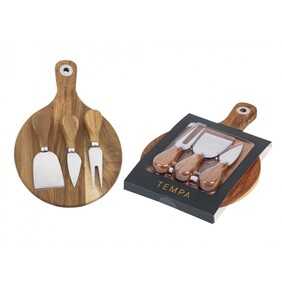 Fromagerie Circle 4pc Cheese Set